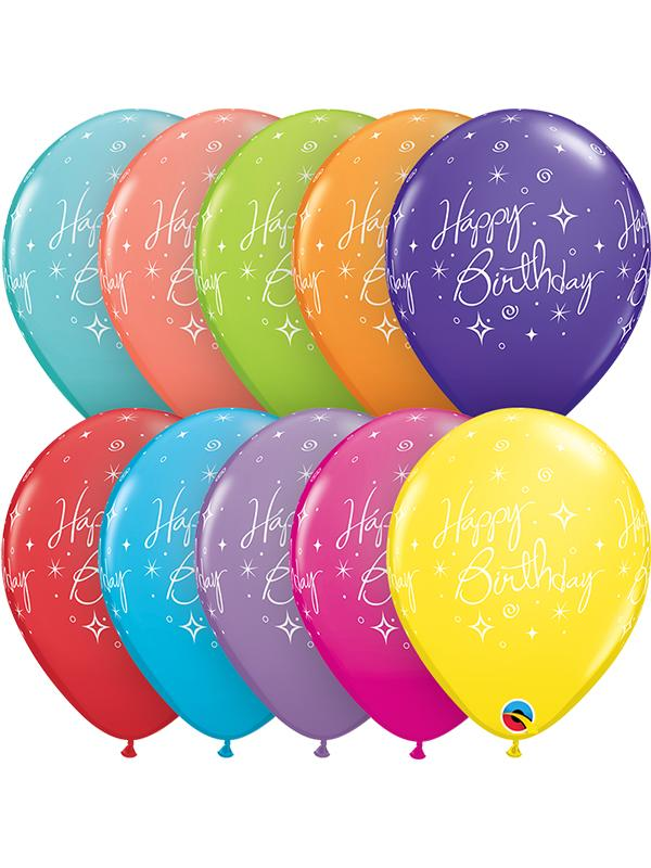 Latex Balloons Birthday Elegant
