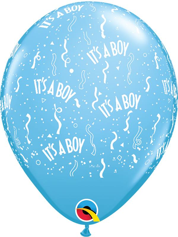 Latex Balloons Its a Boy Blue