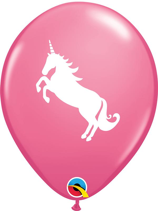 Latex Balloons Unicorn Rose Pink