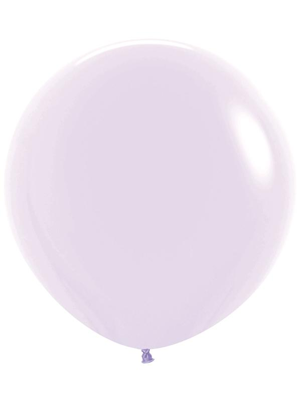 Large Latex Balloon Pastel Matte Solid Lilac