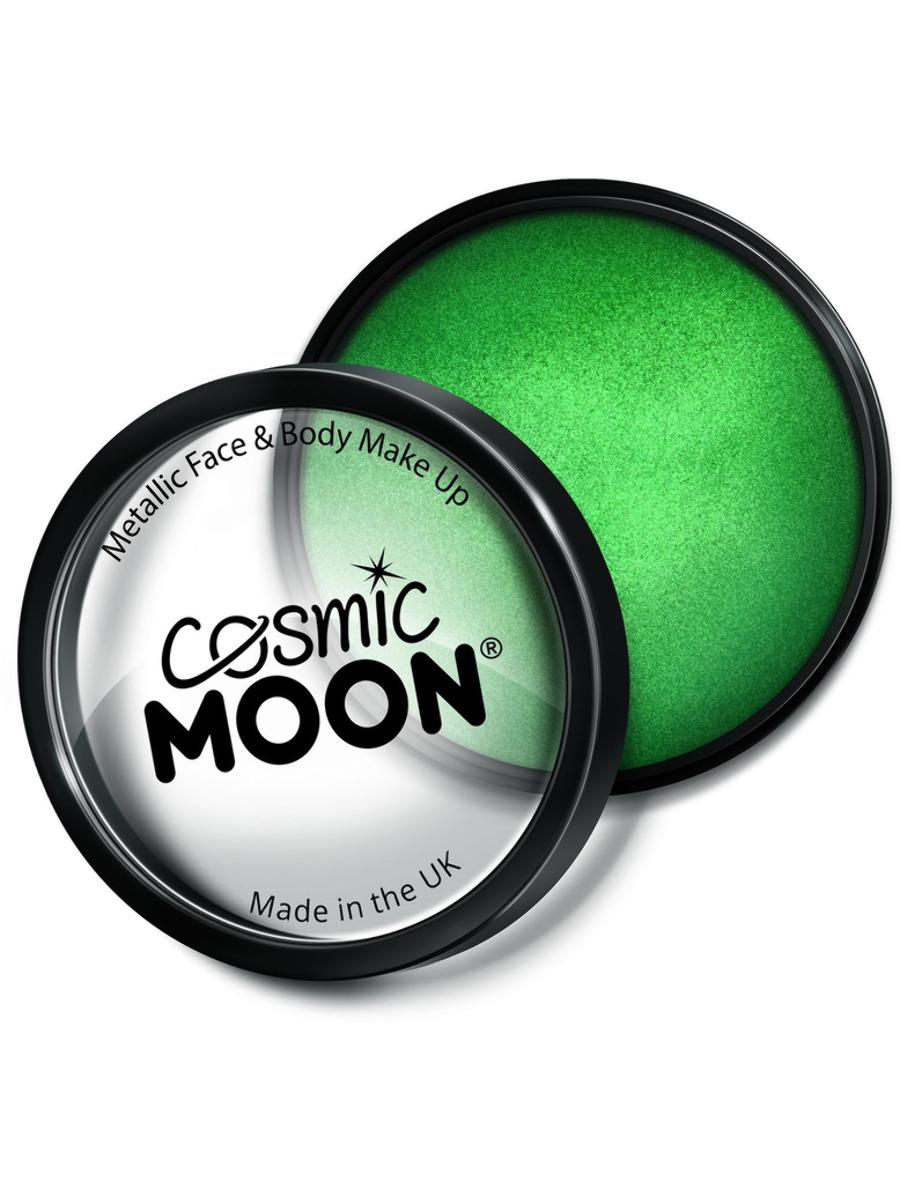 Moon Creations Metallic Pro Face Paint Green