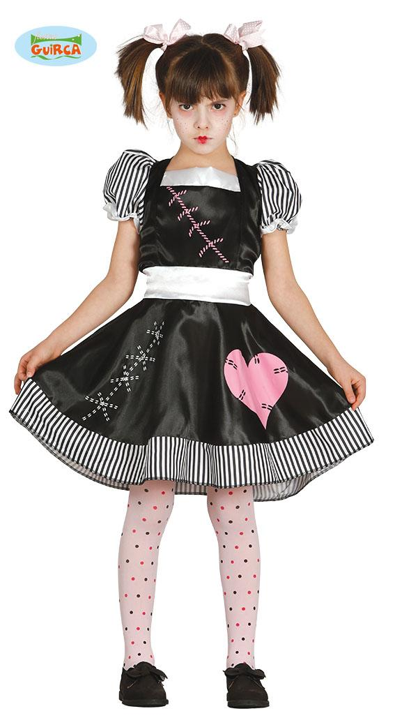 Kids Dead Doll Girl Costume