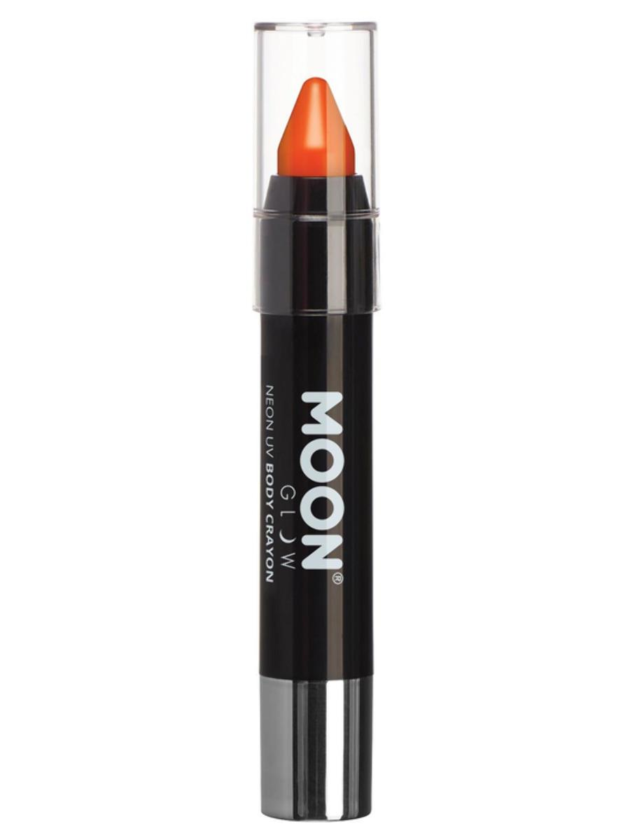 UV Face Paint Stick Neon Orange