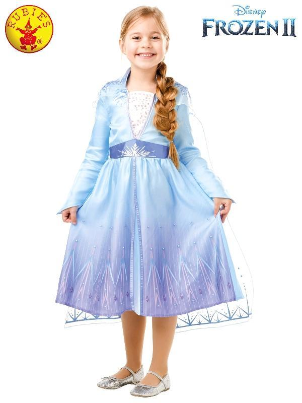 Frozen 2 Childs Elsa Travel Costume