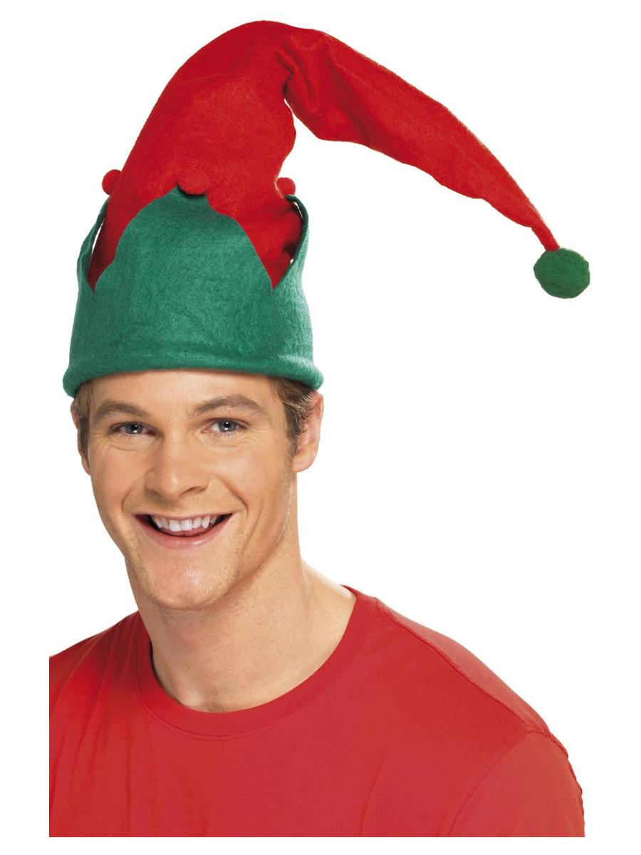 Elf Hat, Red