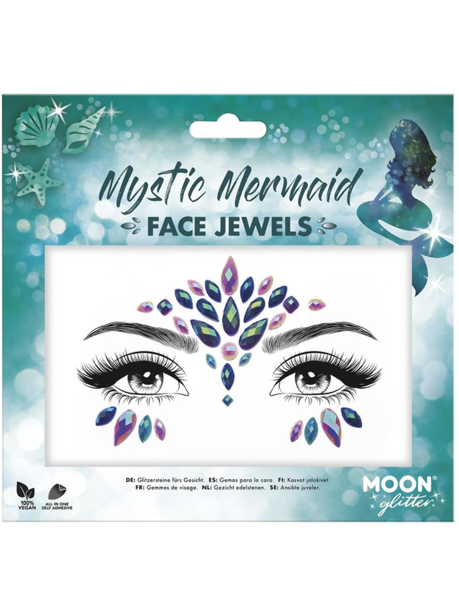 Glitter Face Jewels Mystic Mermaid
