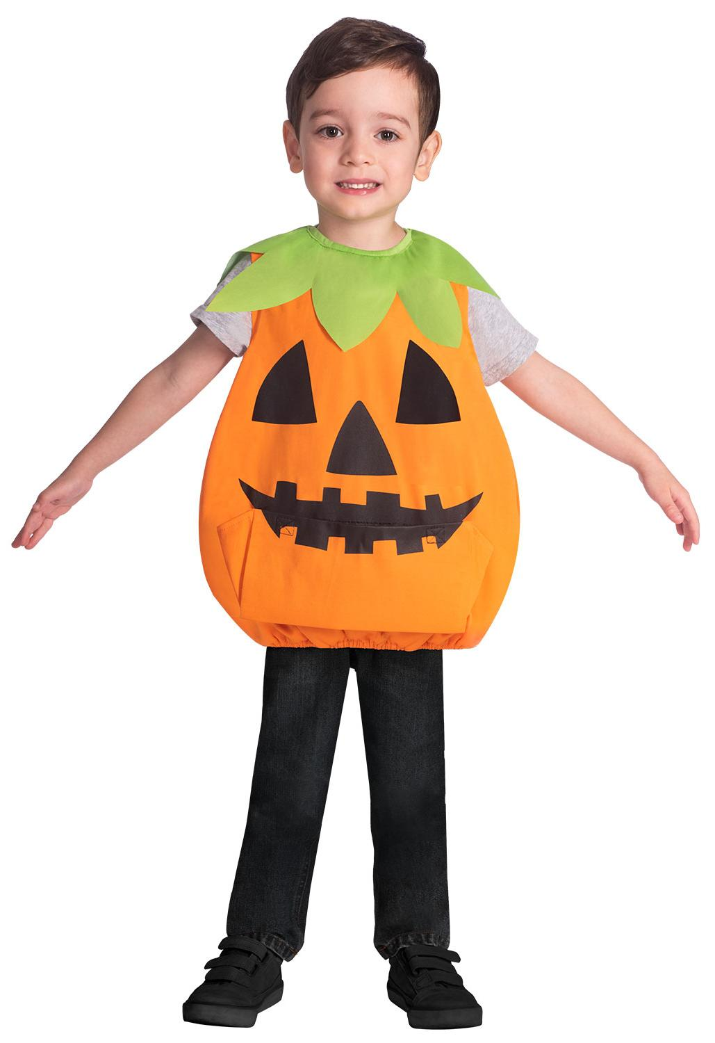 Kids Pumpkin Tabard Costume
