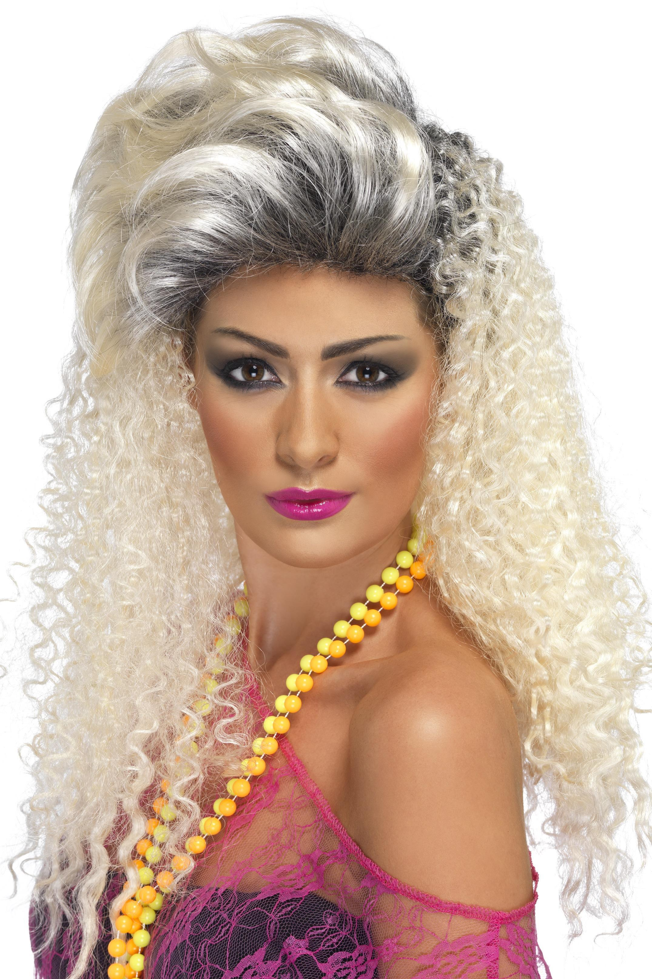 80s Bottle Blonde Wig