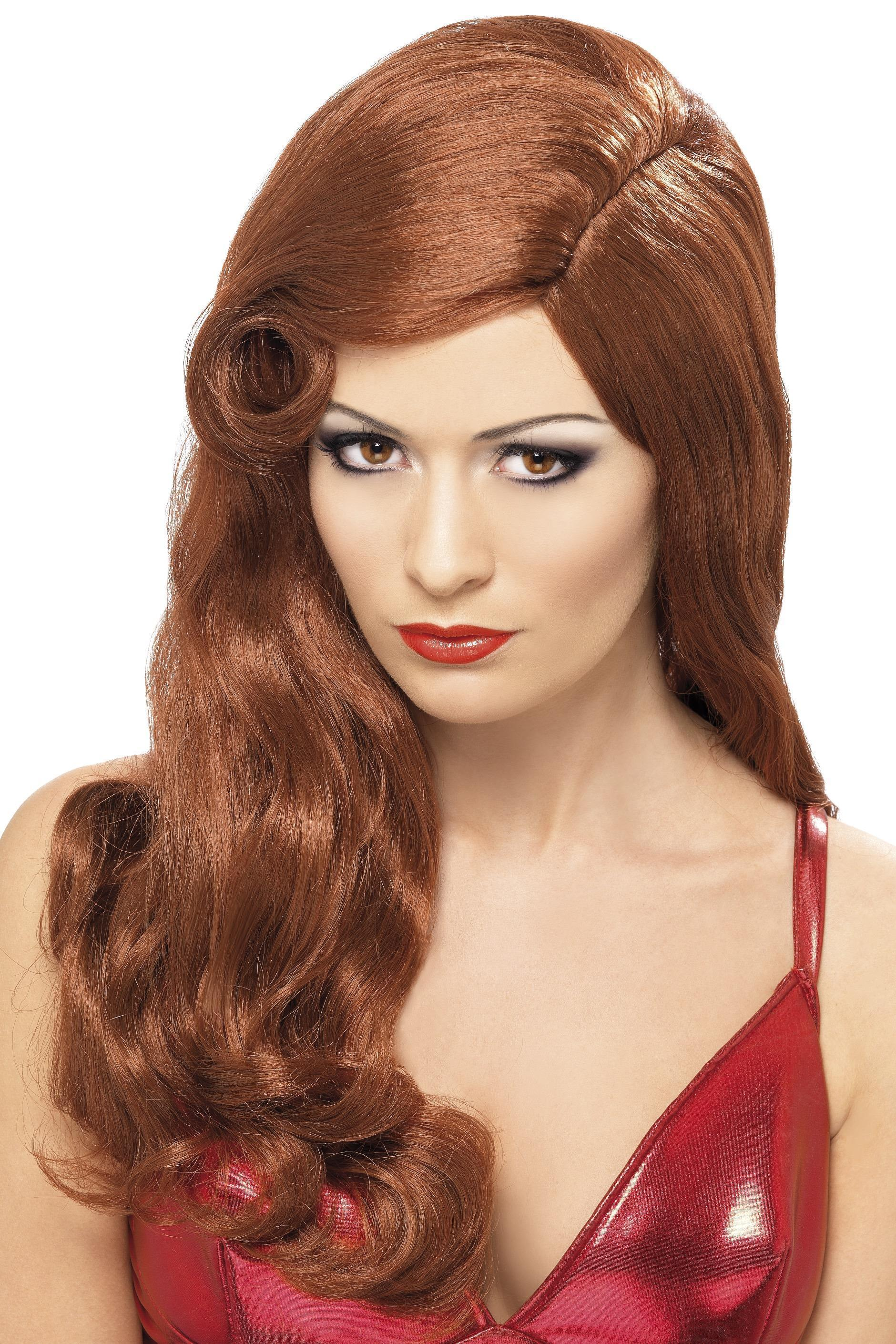 Silver Screen Sensation Wig Auburn