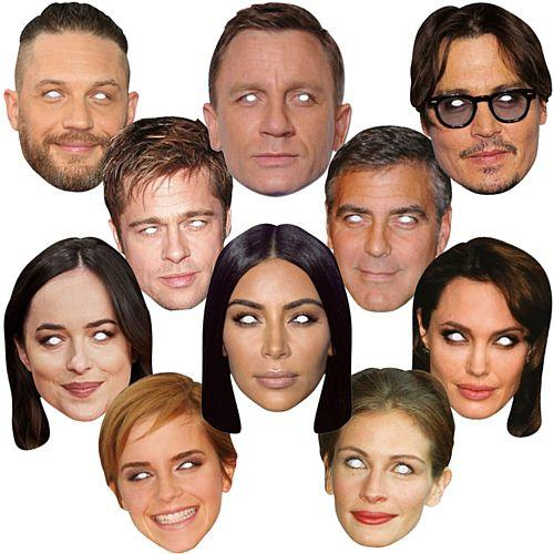 Famous Faces Masks