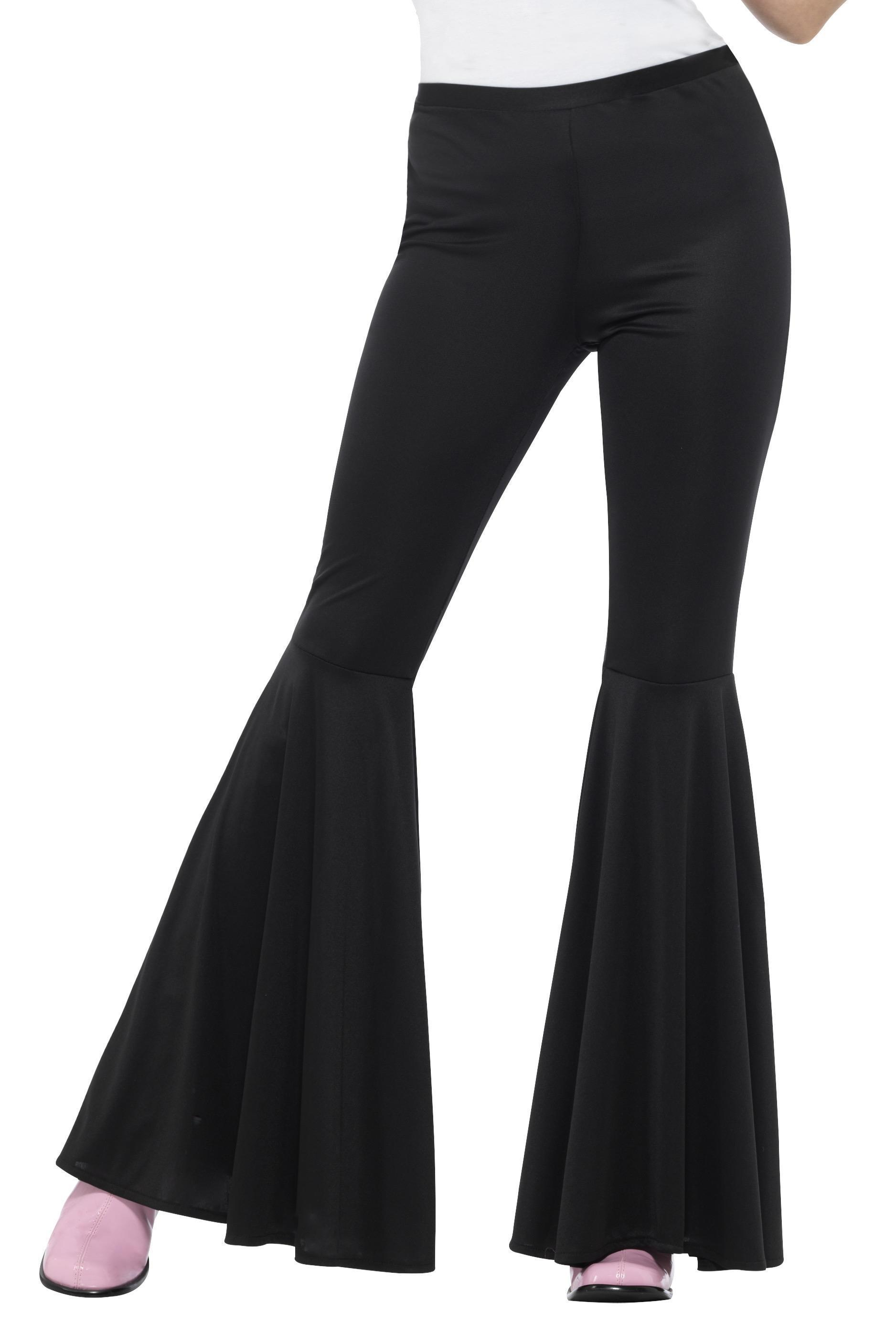 Ladies Flared Trousers Black