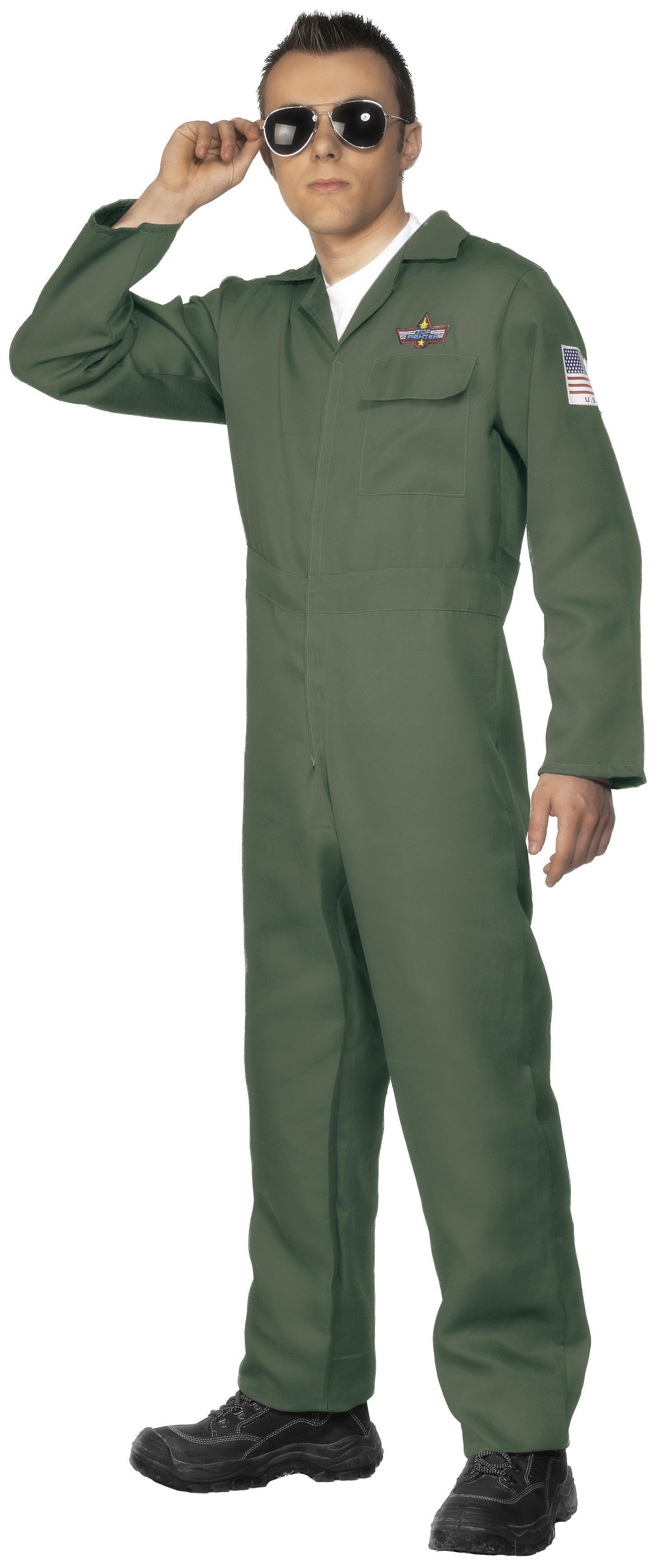 Aviator Costume Green