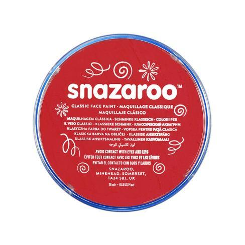Snazaroo 18ml Face Paint Bright Red