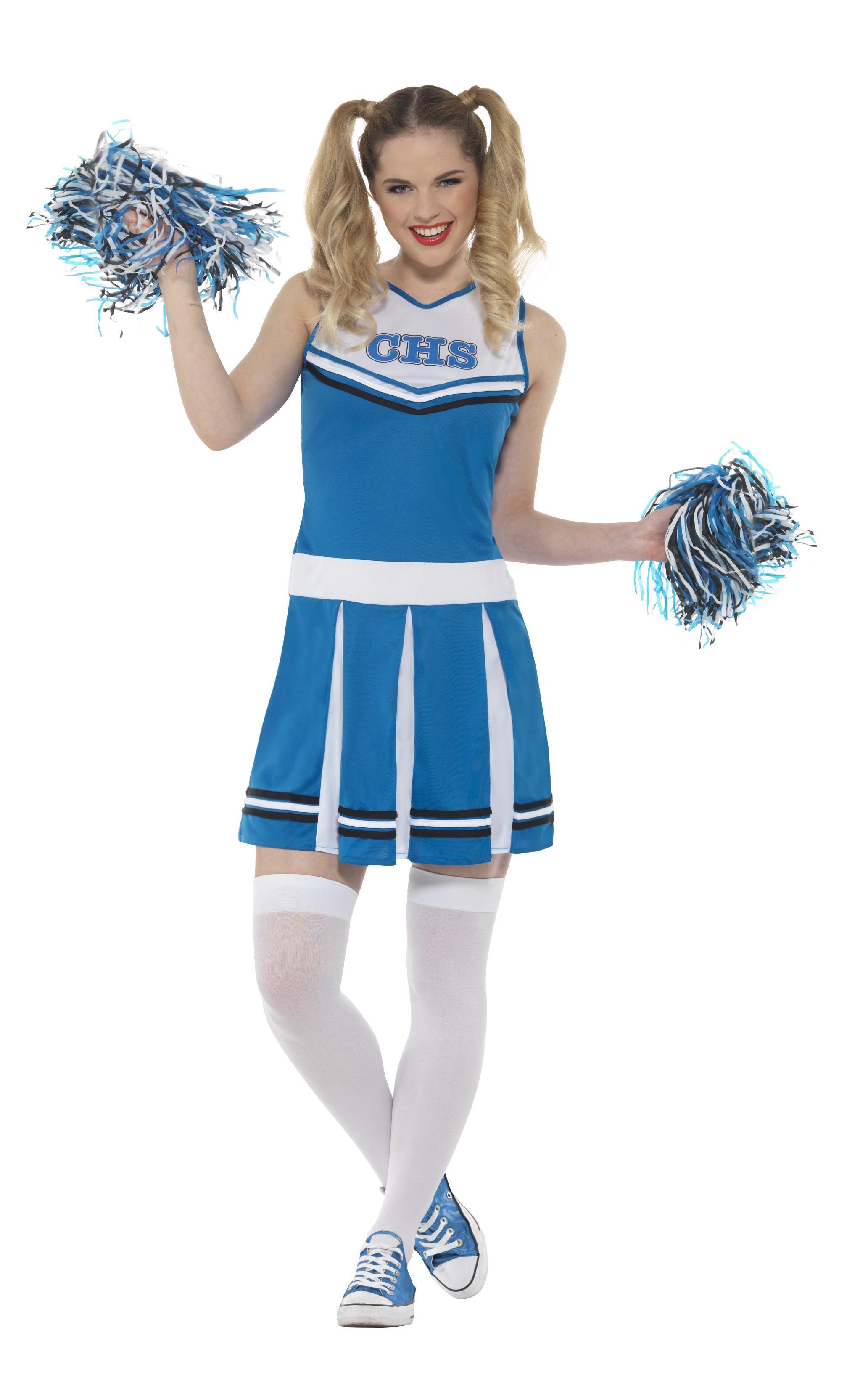 Cheerleader Costume Blue