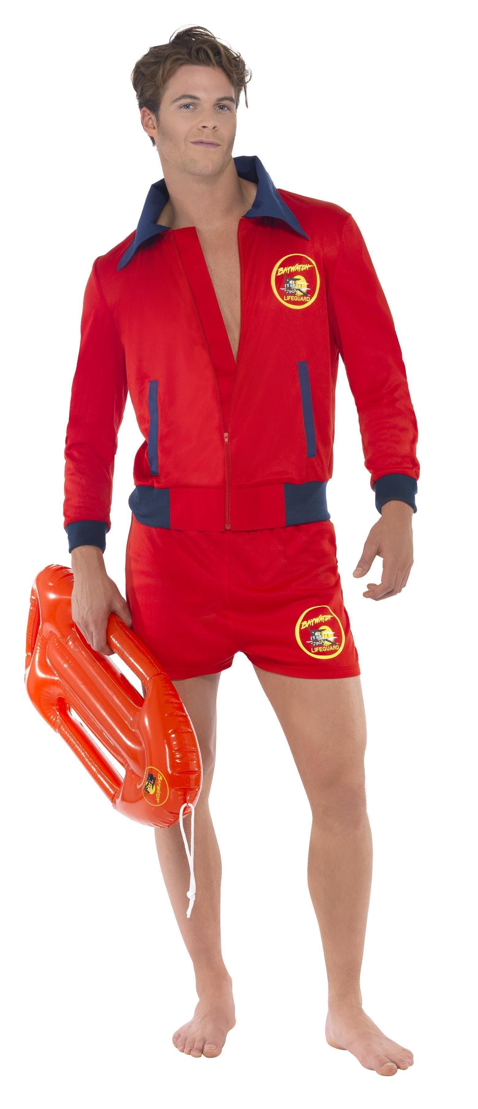 Baywatch Lifeguard Costume Mens
