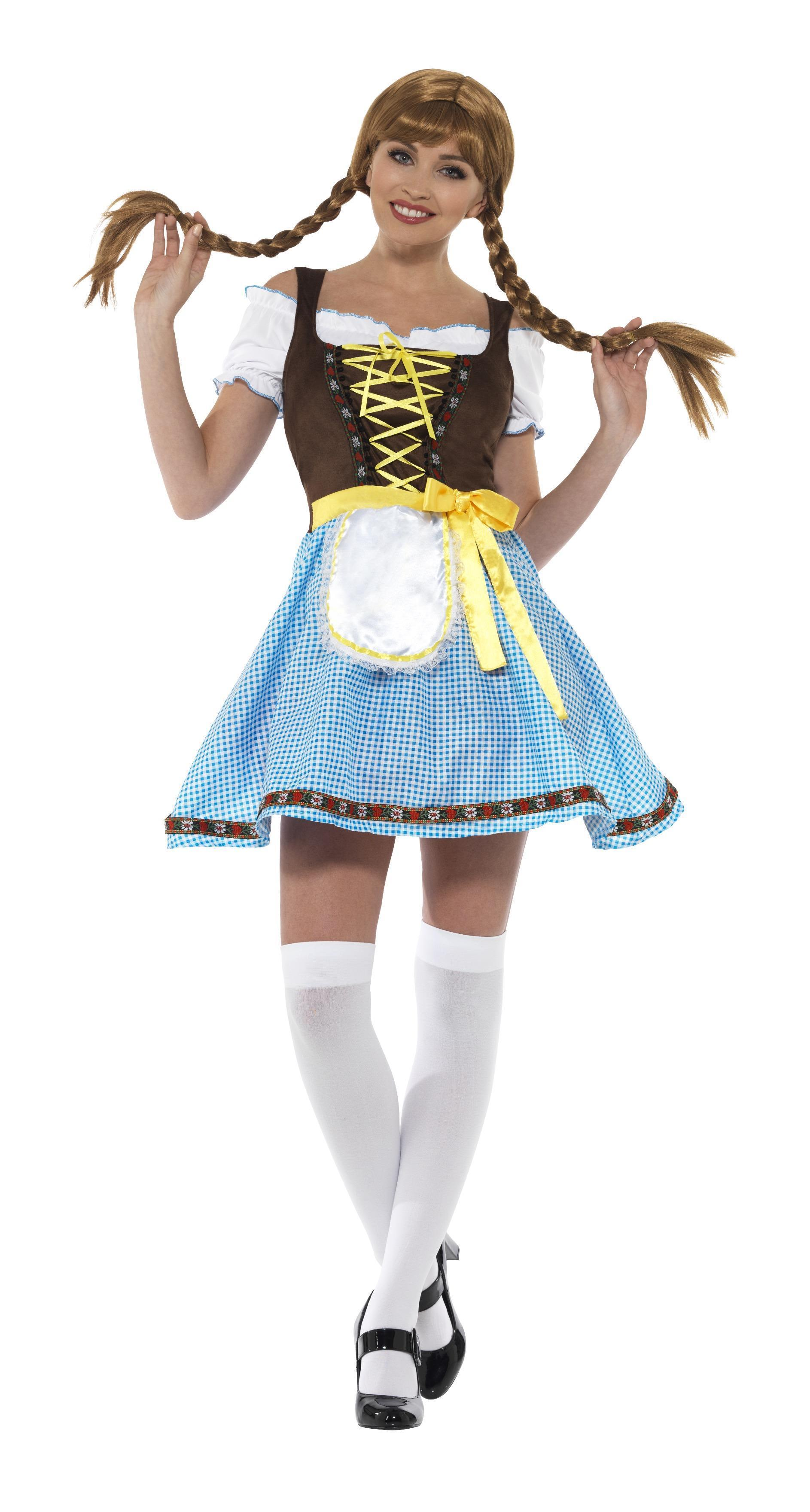 Olga Bavarian Costume Blue & White