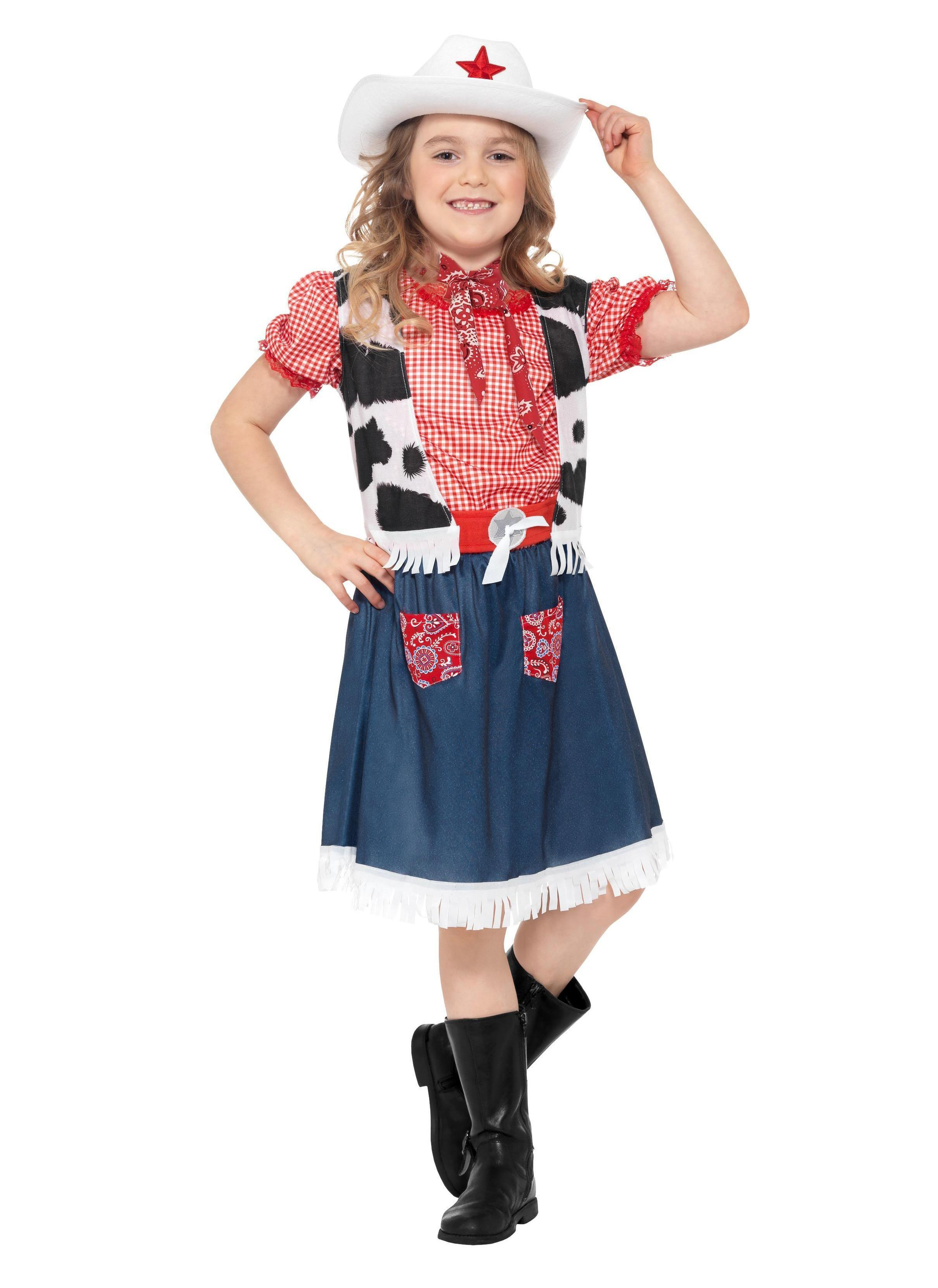 Kids Cowgirl Sweetie Costume