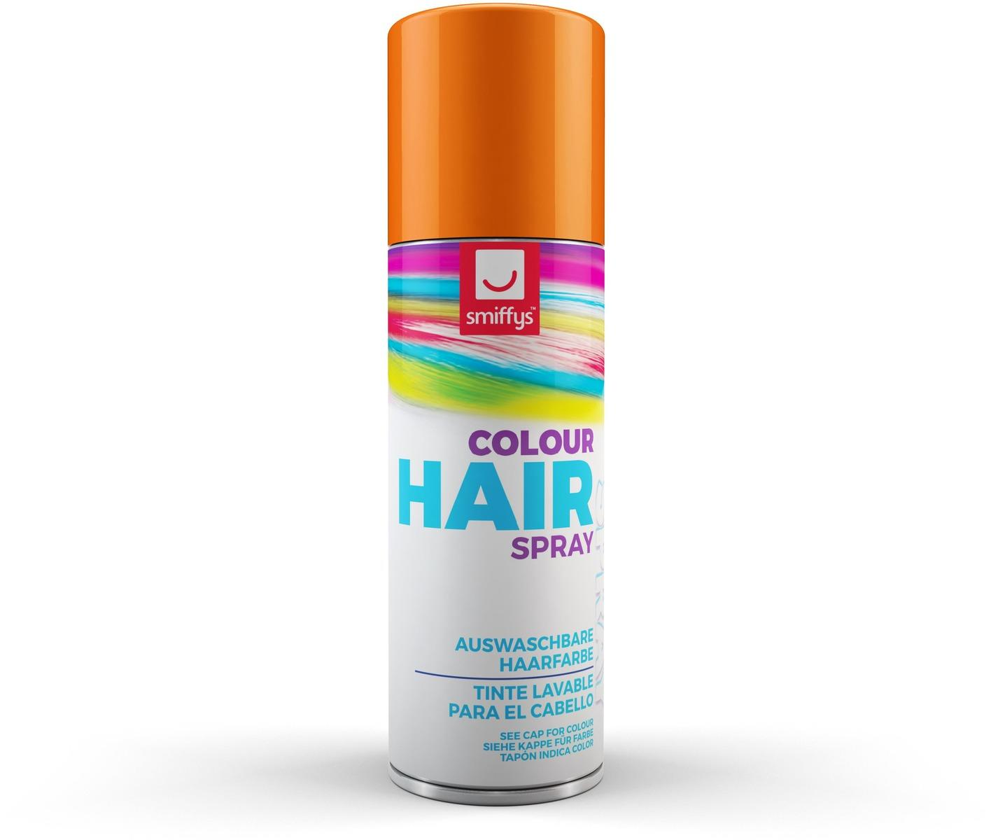 Coloured Hair Spray Orange