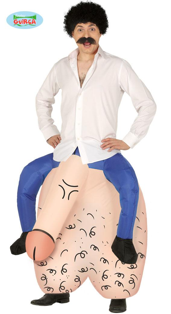 Inflatable Testicles Costume