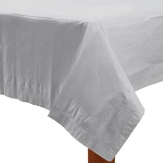 Table Cover Frosty White Rectangle