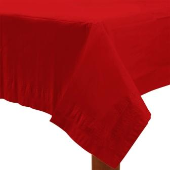 Table Cover Apple Red Rectangle