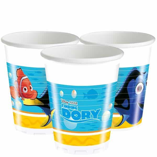 Plastic Cups Finding Dory