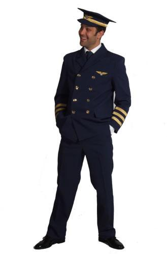 Commercial Pilot Hire Costume