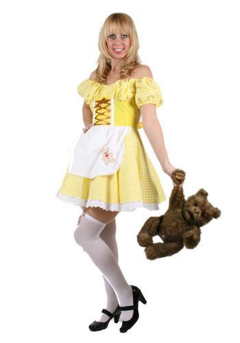 Sexy Goldilocks Hire Costume
