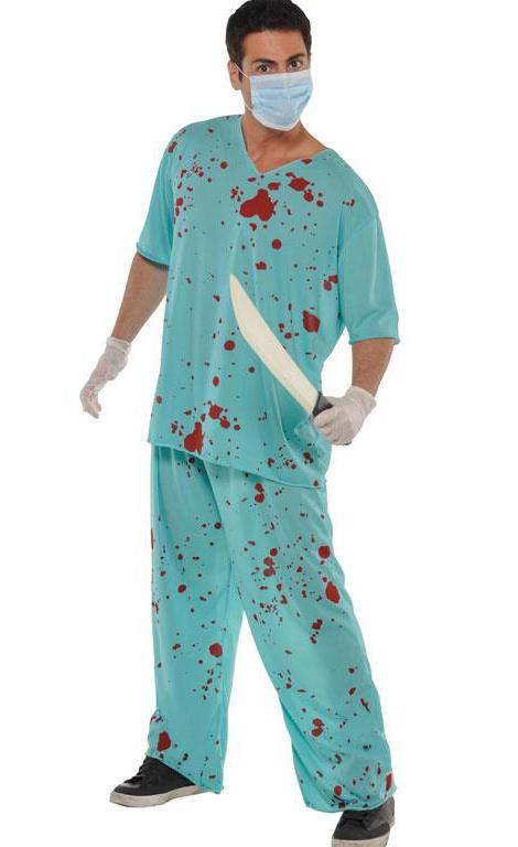 Bloody Doctors Scrubs Costume