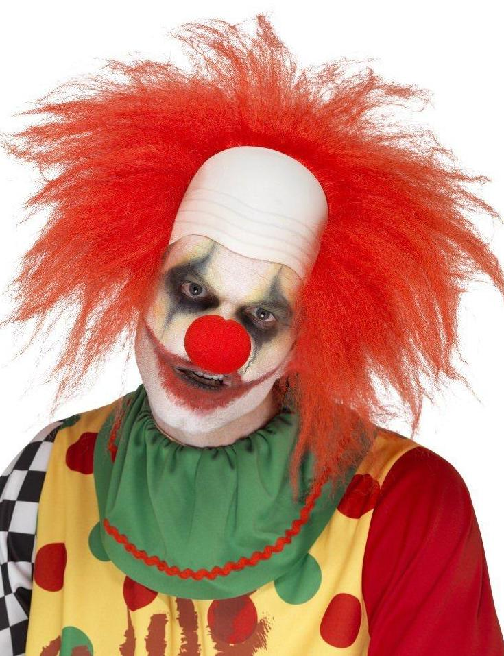 Clown Wig Deluxe Red