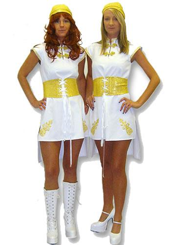 1970S Abba Hire Costume