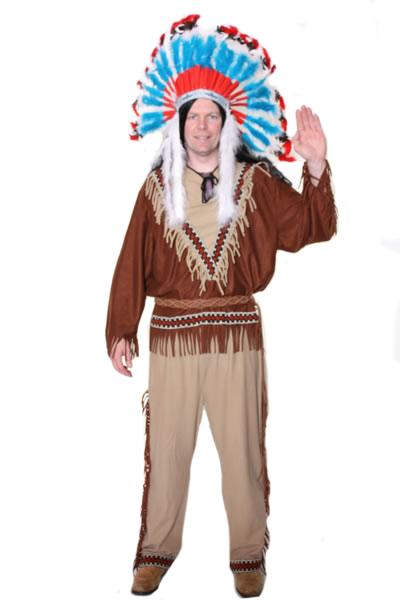 Indian Chief Hire Costume