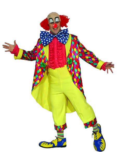 Colourful Clown 1 Hire Costume