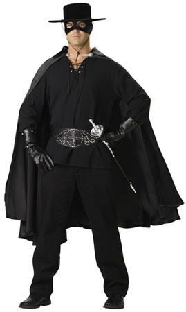 Zorro Hire Costume