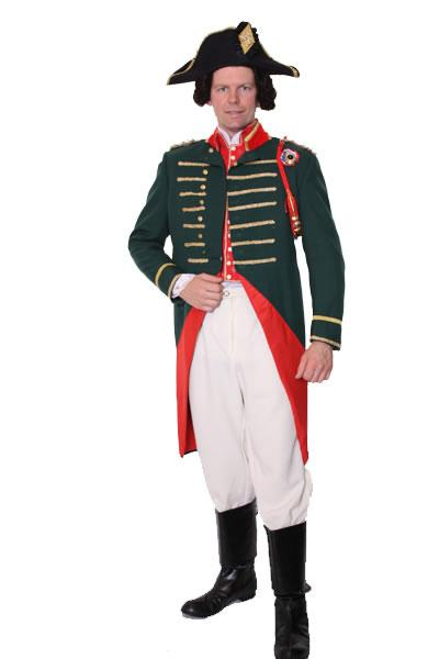 Period Naval Officer Hire Costume