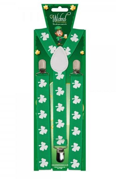 Shamrock Braces Green