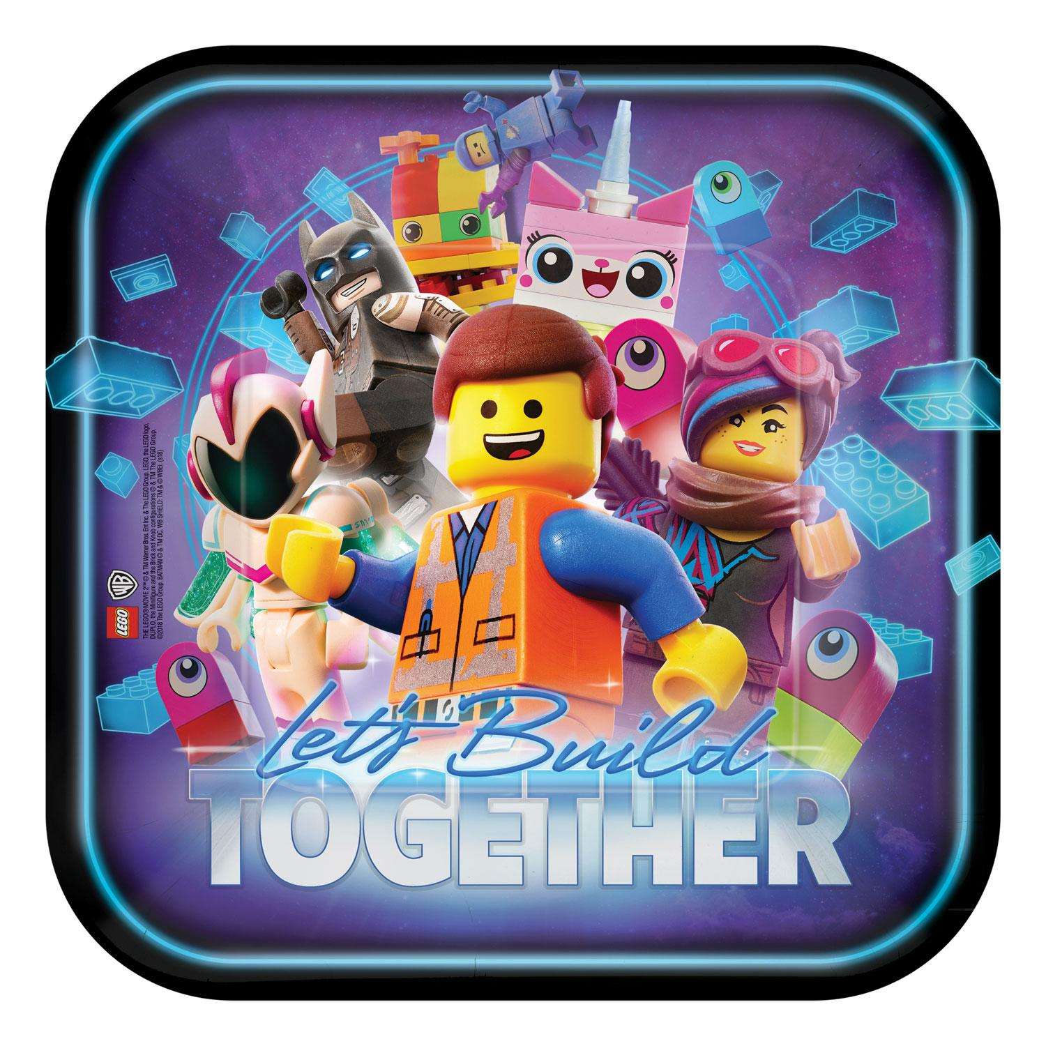 Paper Plates Lego Movie 2
