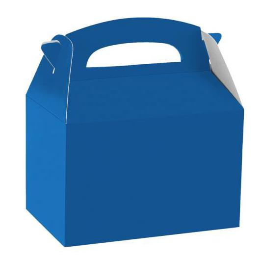 Party Box Bright Blue