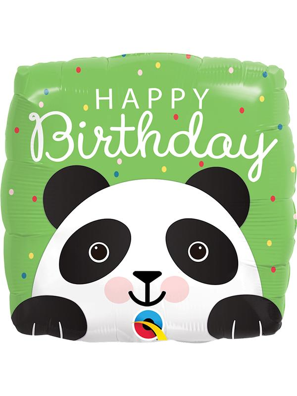 Foil Balloon Birthday Panda