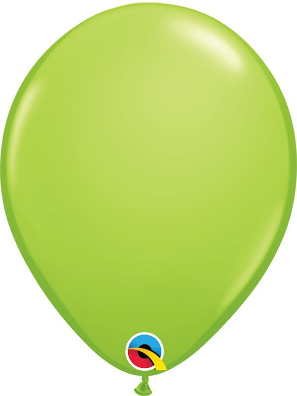 Standard Latex Balloons Lime Green