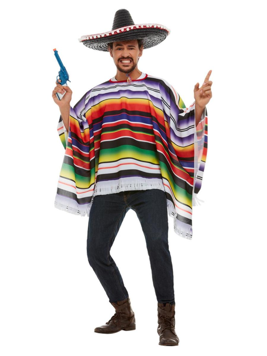 Mexican Poncho Deluxe