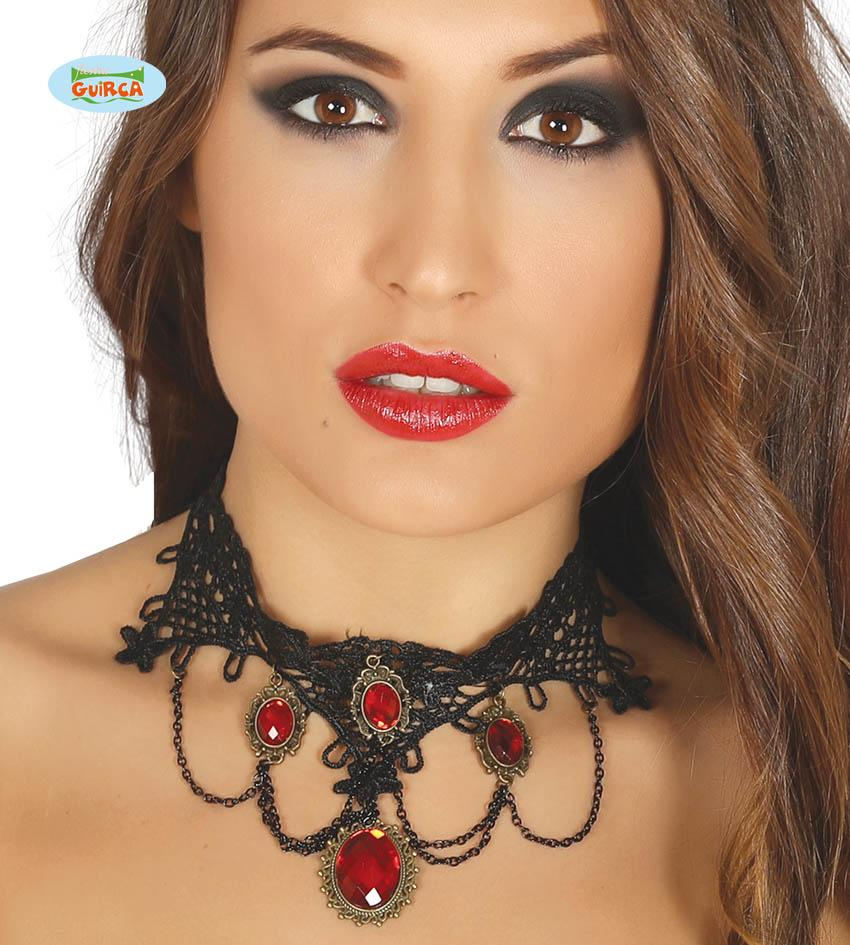Halloween Ruby Chocker