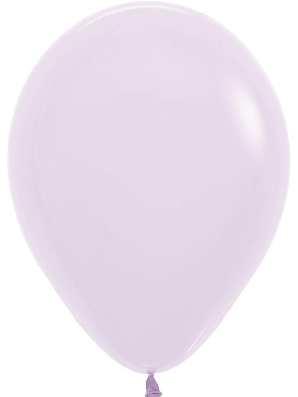Latex Balloons Pastel Matte Solid Lilac