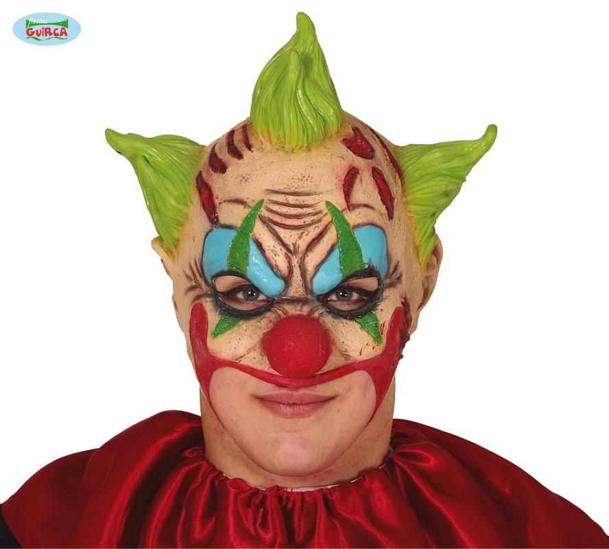 Horror Clown Mask Mouthless