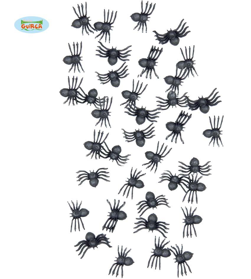 Bag of 70 Spiders