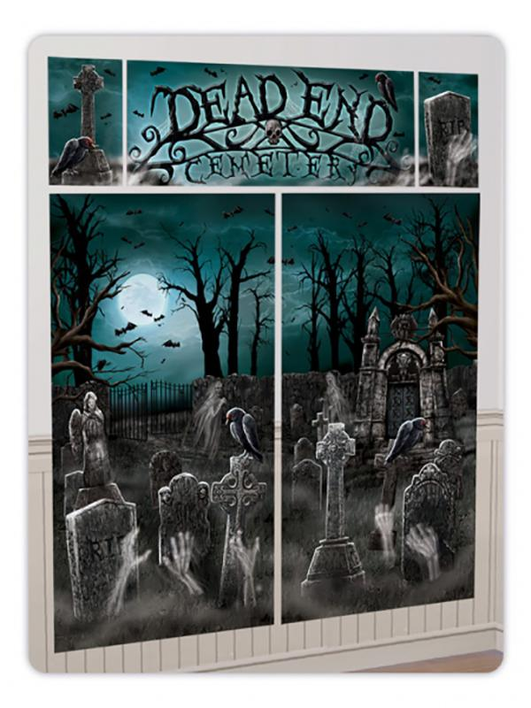 Cemetery Wall Decoration Kit