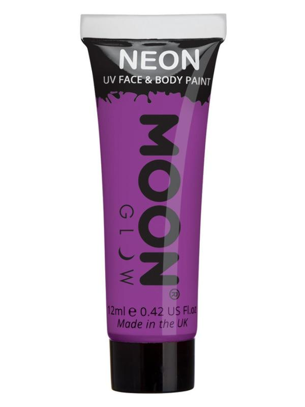 UV Face Paint Neon Purple