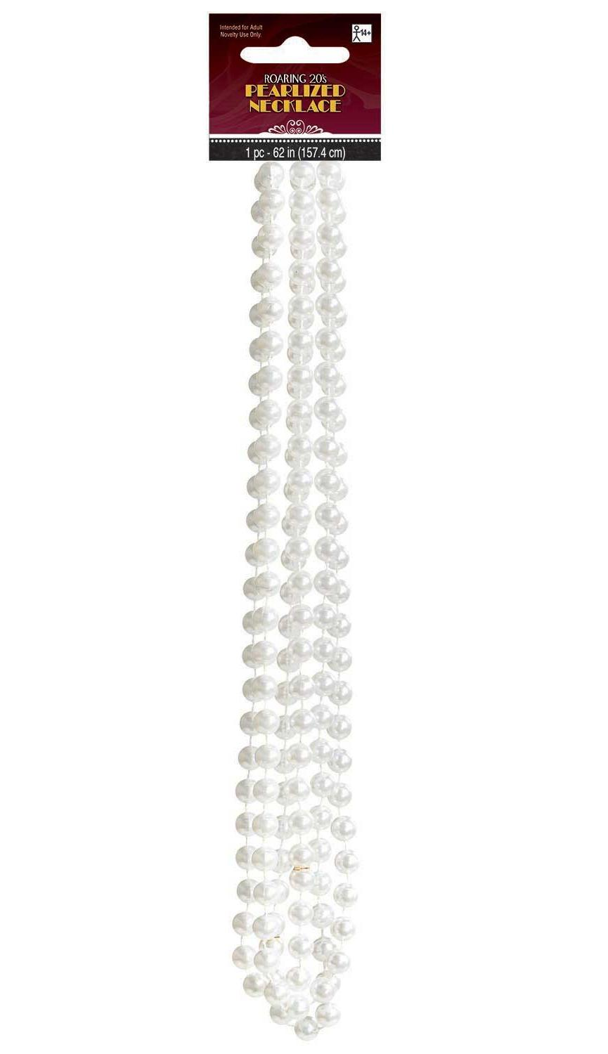 1920s Faux Pearl Necklace