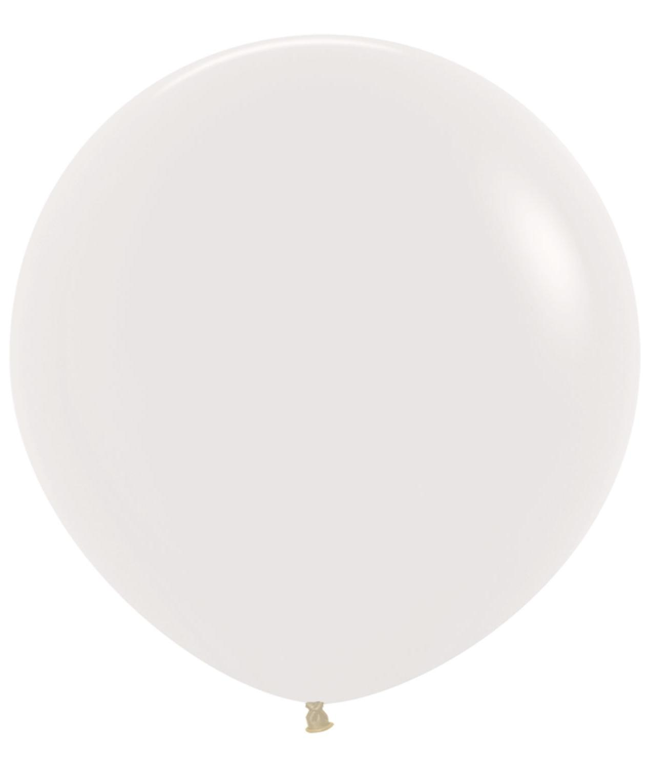 Large Latex Balloon Solid Crystal Clear