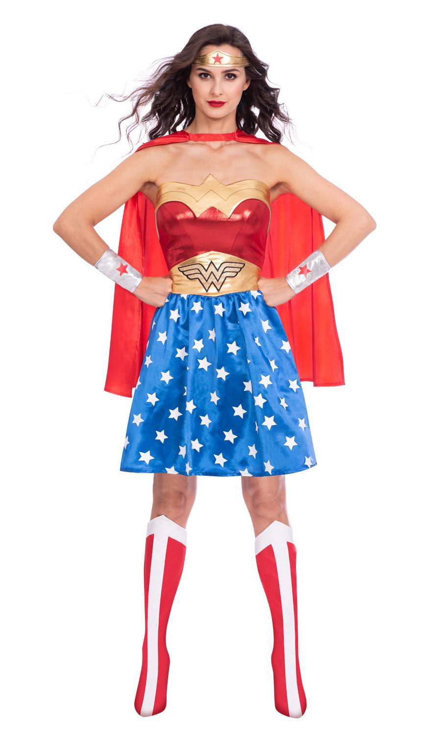 Classic Wonder Woman Costume Adult